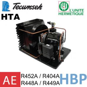 Groupe de condensation Tecumseh AET4460ZHR - R452A / R404A, R449A, R407A, R452A / R448A / R449A