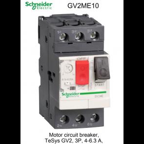 Disjoncteur moteur magnétothermiques GV2ME10 de Schneider Electric