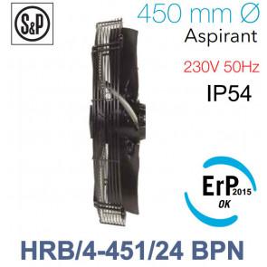 Ventilateur axial de roteur externe HRB/4-451/24 BPN de S&P