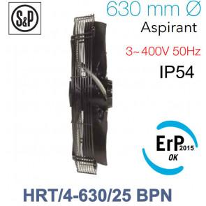 Ventilateur axial de roteur externe HRT/4-630/25 BPN de S&P