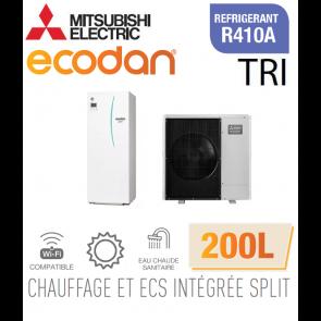 Ecodan duo 11 CHAUFFAGE SEUL + ECS 200L EHST20C-VM2D + PUHZ-SW100YAA