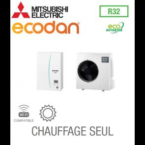 Ecodan 8 Eco Inverter CHAUFFAGE SEUL EHSD-VM2D + SUZ-SWM80VA