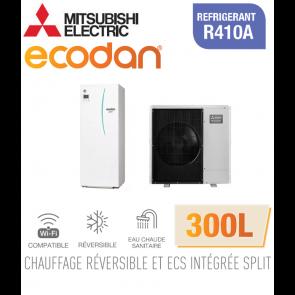 Ecodan duo 11 réversible 300L ERST30C-VM2ED + PUHZ-SW100VAA