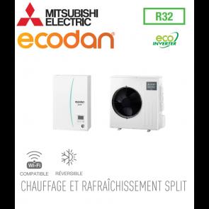Ecodan 4 Eco Inverter réversible ERSD-VM2D + SUZ-SWM40VA