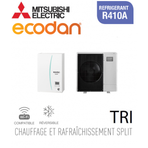 Ecodan 11 réversible ERSC-VM2D + PUHZ-SW100YAA