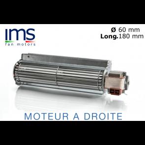 """Ventilateur Tangentiel TG6 – 180 de """"IMS"""""""