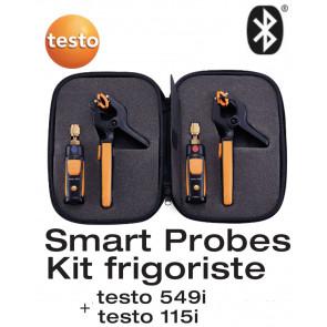 Kit frigoriste testo Smart Probes - avec commande Smartphone