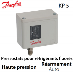 Pressostat simple automatique HP - 060-117166 - Danfoss