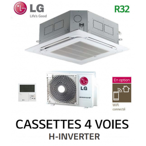 LG Cassette 4 voies H-INVERTER UT12FH.NQ0 - UUA1.UL0