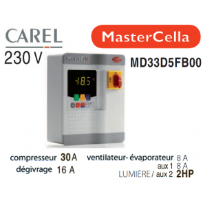 Coffret électrique MasterCella MD33D5FB00 de  Carel