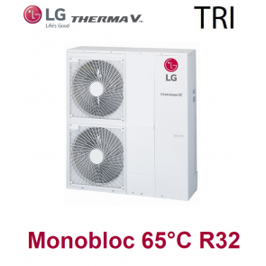 Pompe à Chaleur THERMA V Monobloc 65°C - HM123M.U33 - triphasé - R32