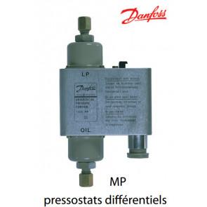 Pressostats différentiels MPde Danfoss