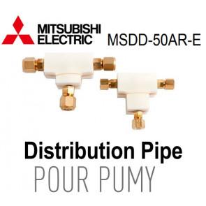 Tuyau de distribution MSDD-50AR-E pour PUMY de Mitsubishi