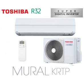 Toshiba Mural KRTP Super Digital Inverter RAV-GM1101KRTP-E monophasé