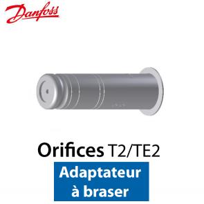 Orifice pour détendeur T 2/TE 2 Adaptateur à braser nº 00 Code 068-2090 Danfoss