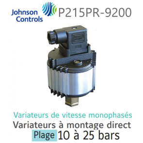 Variateur de vitesse monophasé à montage direct P215PR-9200 Johnson Controls