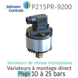 Variateur de vitesse monophasé à montage direct P215PR-9200 Johnson Controls