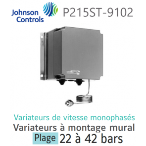 Variateur de vitesse monophasé P215ST-9102 Johnson Controls