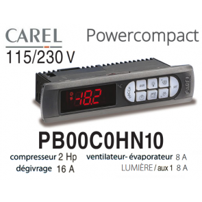 Régulateur Power Compact PB00C0HN10 de Carel