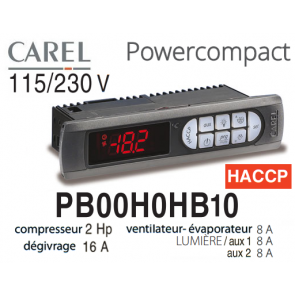 Régulateur Power Compact PB00H0HB10 de Carel