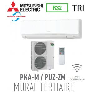 Mitsubishi MURAL TERTIAIRE modèle PKZ-ZM100KAL triphasé