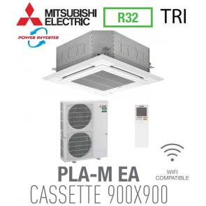 Mitsubishi CASSETTE 4 VOIES 900X900 modèle PLZ-ZM140EA triphasé