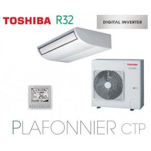 Toshiba Plafonnier CTP Digital Inverter RAV-RM1401CTP-E monophasé