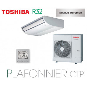 Toshiba Plafonnier CTP Digital Inverter RAV-RM1601CTP-E monophasé