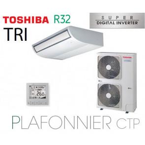 Toshiba Plafonnier CTP Super Digital Inverter RAV-RM1601CTP-E triphasé