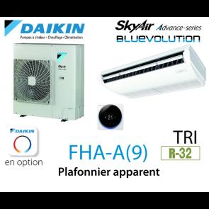Daikin Plafonnier apparent Advance FHA125A triphasé