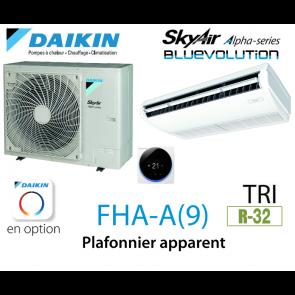 Daikin Plafonnier apparent Alpha FHA100A triphasé