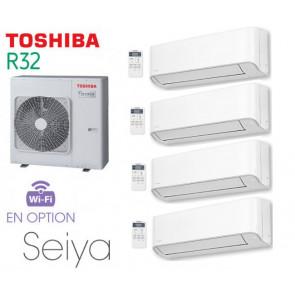 Toshiba Seiya Quadri-Split RAS-4M27U2AVG-E + 3 RAS-B07J2KVG-E + 1 RAS-B13J2KVG-E