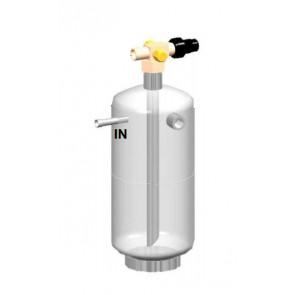Reservoirs de liquide verticaux 30 Bars avec vanne rotalock