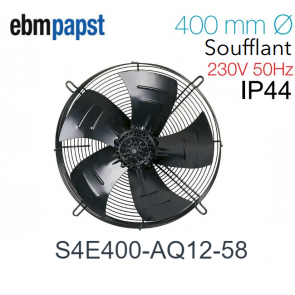 Ventilateur hélicoïde  S4E400-AQ12-58 de EBM-PAPST