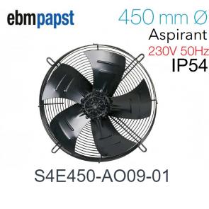 Ventilateur hélicoïde S4E450-AO09-01 de EBM-PAPST