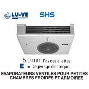 Evaporateur pour armoires et petites chambres SHS 18E de LU-VE - 1430 W