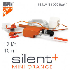 "Pompe d'évacuation des condensats Silent+ mini orange de ""Aspen Pumps"""