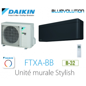 Daikin Stylish FTXA35BB - R-32 - WIFI inclus