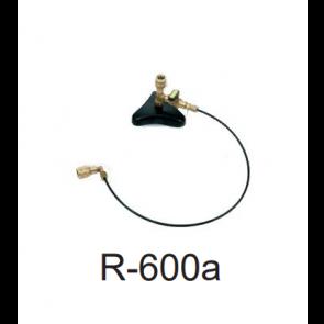 Support et tube 90º pour bouteille non rechargeable pour R-600