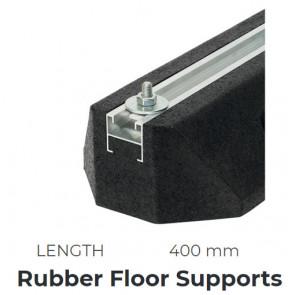 Support au sol en caoutchouc 400 mm