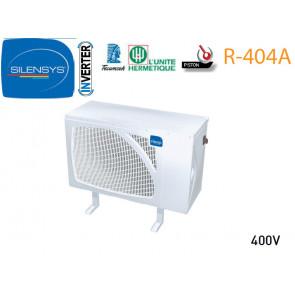 Groupe Caréné SILENSYS Inverter de L'Unité hermétique R 404A - SIL AGV 4553Z