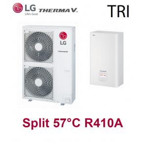 Pompe à Chaleur THERMA V Split 57°C - HU143.U33 + HN1639.NK3 - Triphasé - R410A