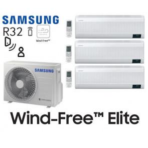Samsung Wind-Free Elite Tri-Split AJ052TXJ3KG + 3 AR07TXCAAWKN