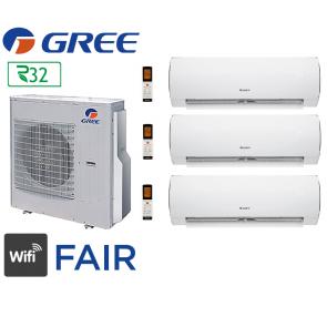 GREE Tri-split FAIR FM 36 + 1 Fair 9 + 1 Fair 12 + 1 Fair 18
