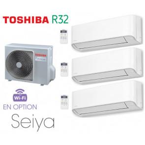 Toshiba Seiya Tri-Split RAS-3M18U2AVG-E + 3 RAS-B07J2KVG-E