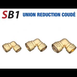 Union réduction 90° rapide 3/8'' x 1/2''