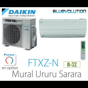 Daikin URURU SARARA FTXZ25N - R-32