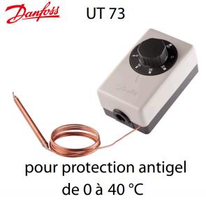 Thermostat pour protection antigel UT 73 Danfoss