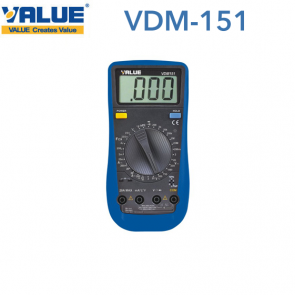 Multimètre digital VDM-151 de Value