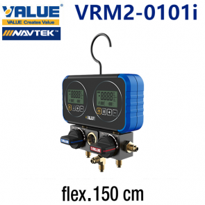 Coffret manomètre digital VRM2-0101i de Value